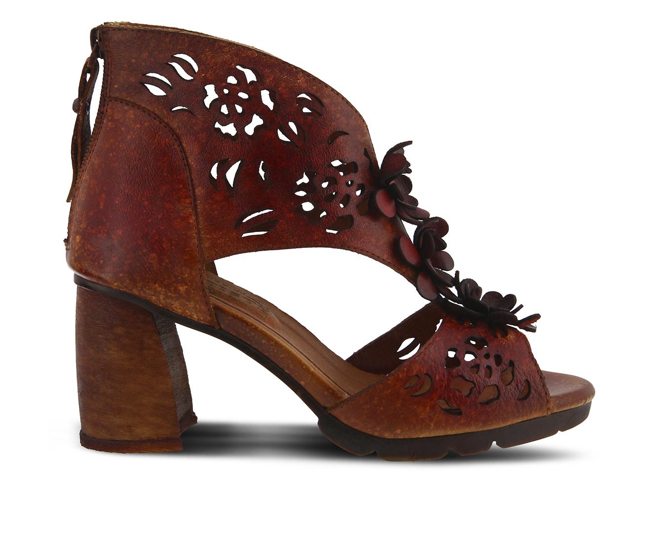 L'Artiste Marieloves Women's Dress Shoe (Red Leather)