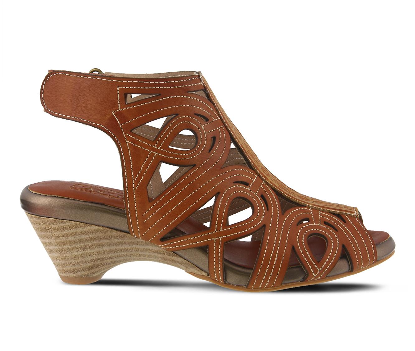 L'Artiste Flourish Women's Dress Shoe (Beige Leather)