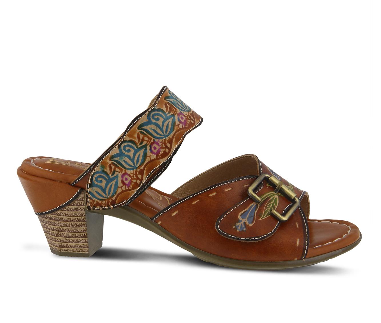 L'Artiste Ozuna Women's Dress Shoe (Beige Leather)