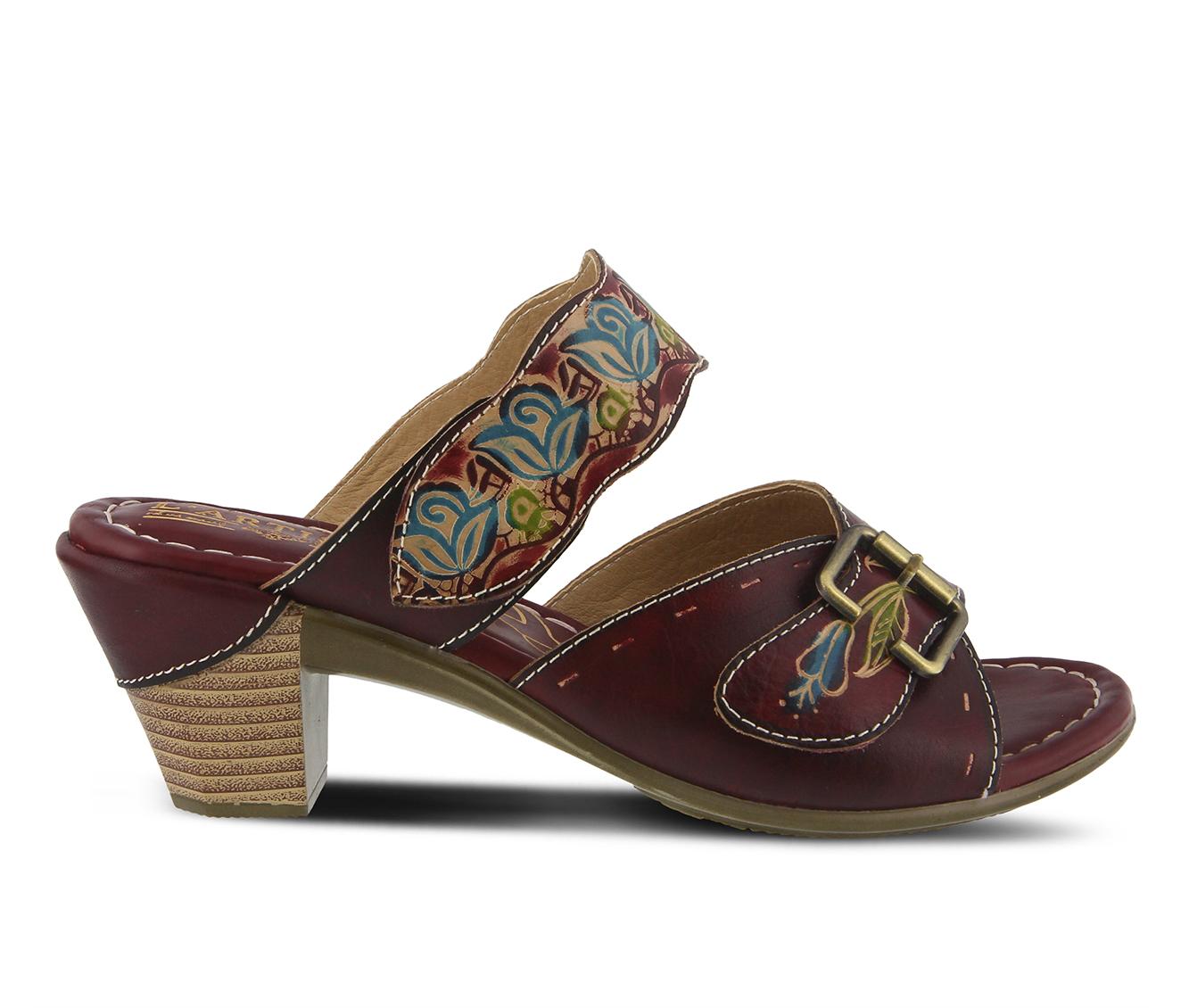 L'Artiste Ozuna Women's Dress Shoe (Red Leather)