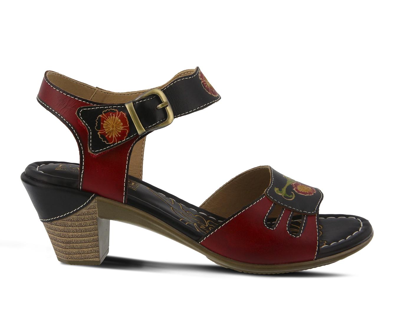 L'Artiste Kyleta Women's Dress Shoe (Black Leather)