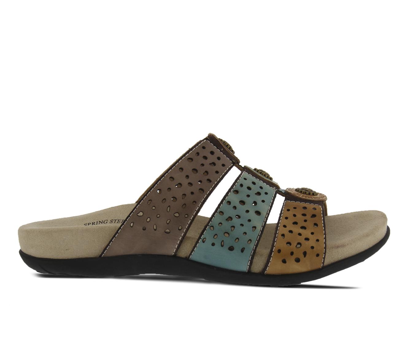 L'Artiste Glennie Women's Sandal (Gray Leather)