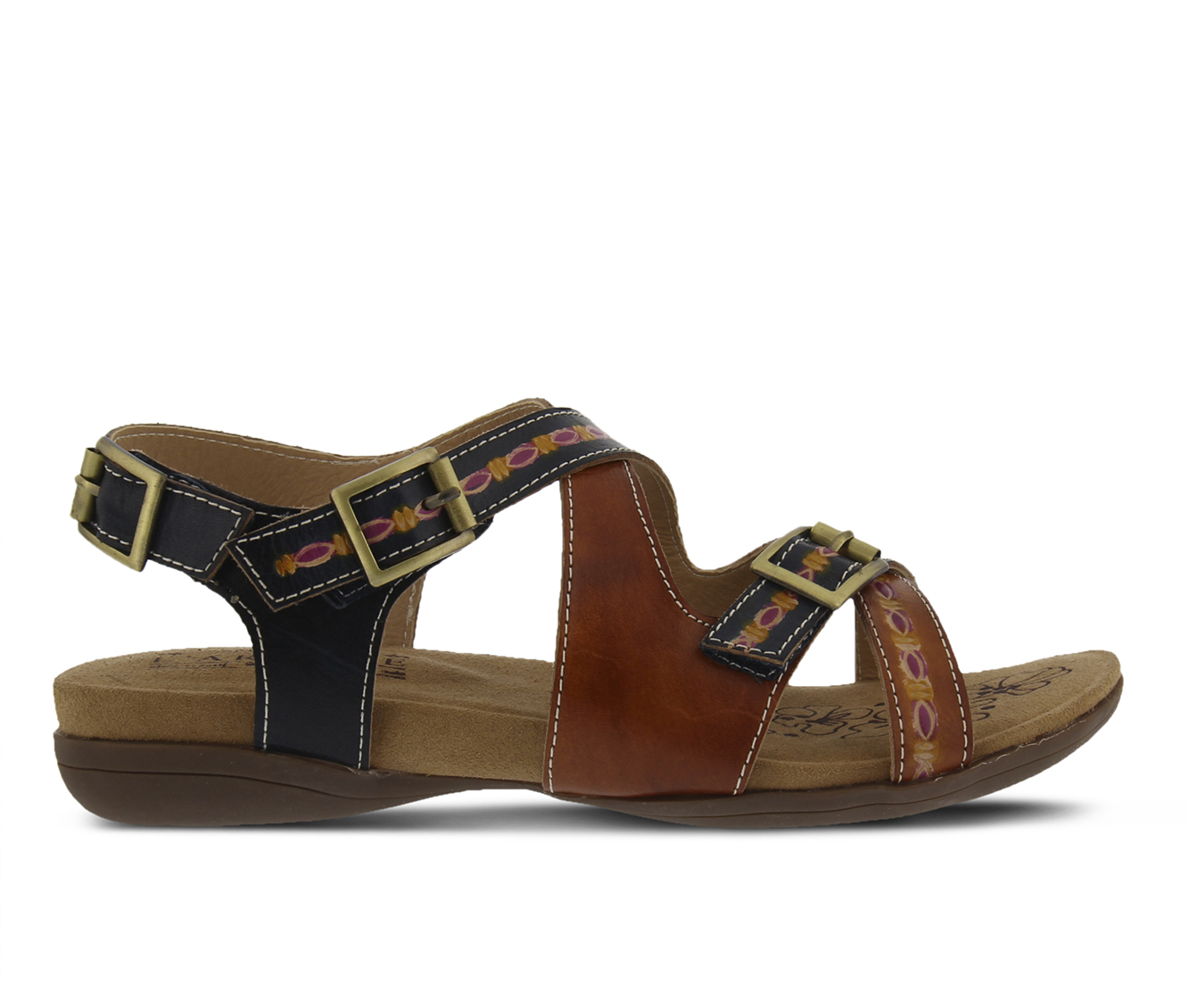 L'Artiste Lilliana Women's Sandal (Beige Leather)