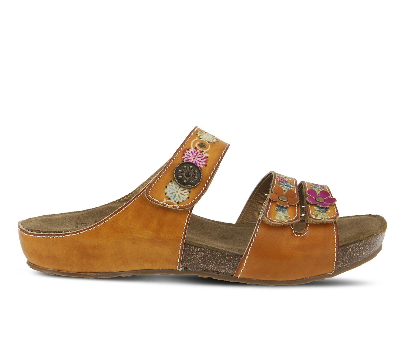 L'Artiste Freesia Women's Sandal (Beige Leather)