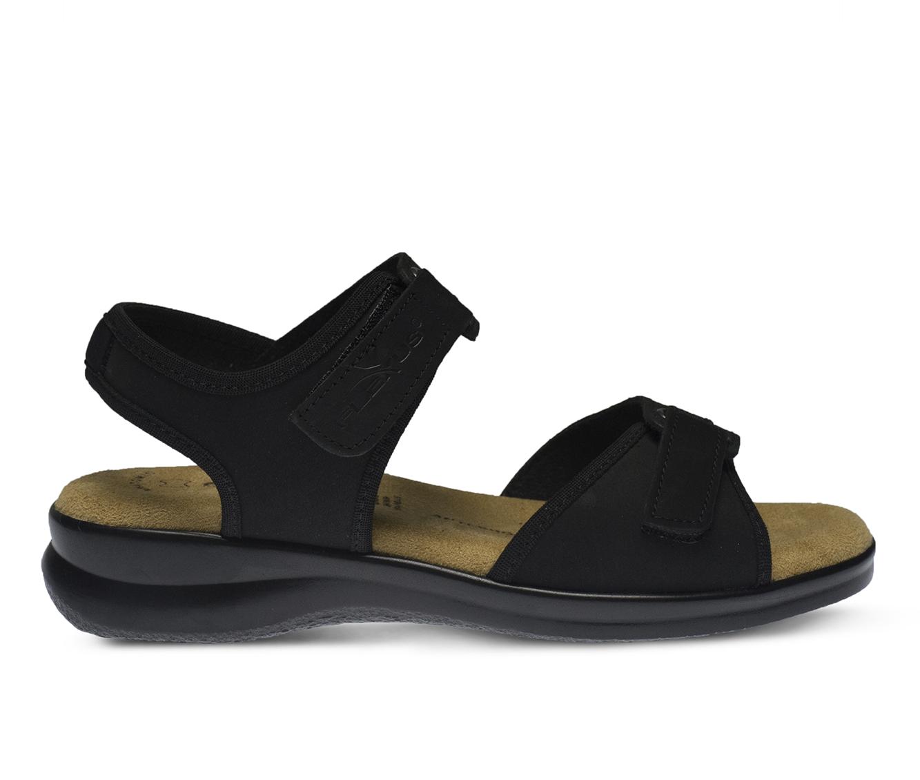 Flexus Danila Women's Sandal (Black Leather)