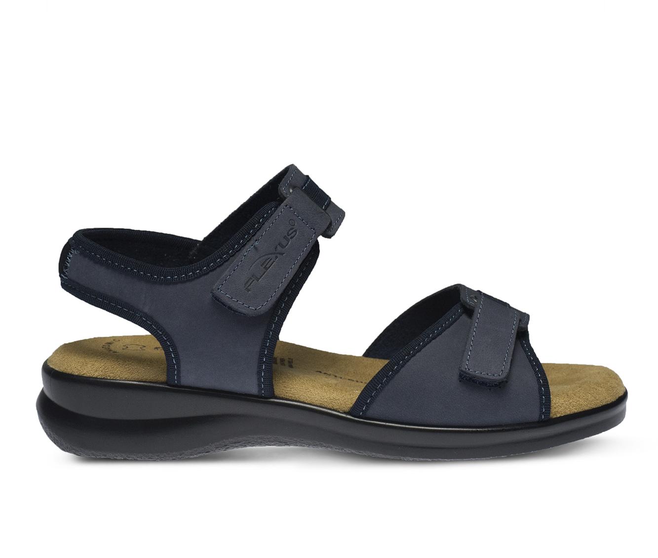 Flexus Danila Women's Sandal (Blue Leather)