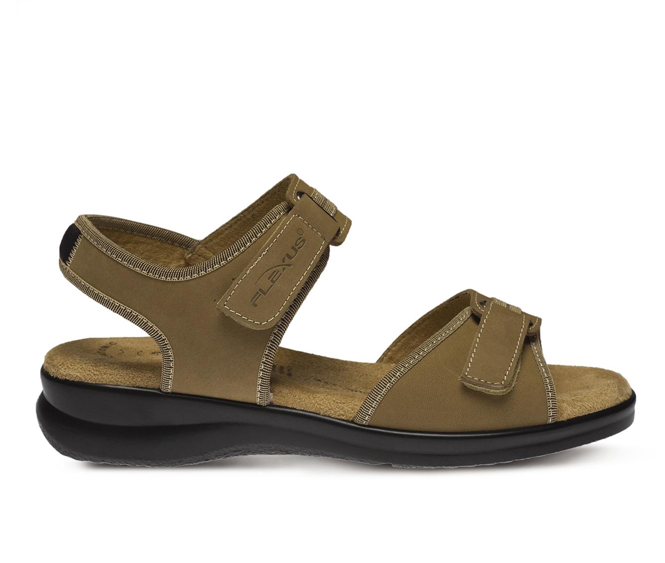 Flexus Danila Women's Sandal (Beige Leather)