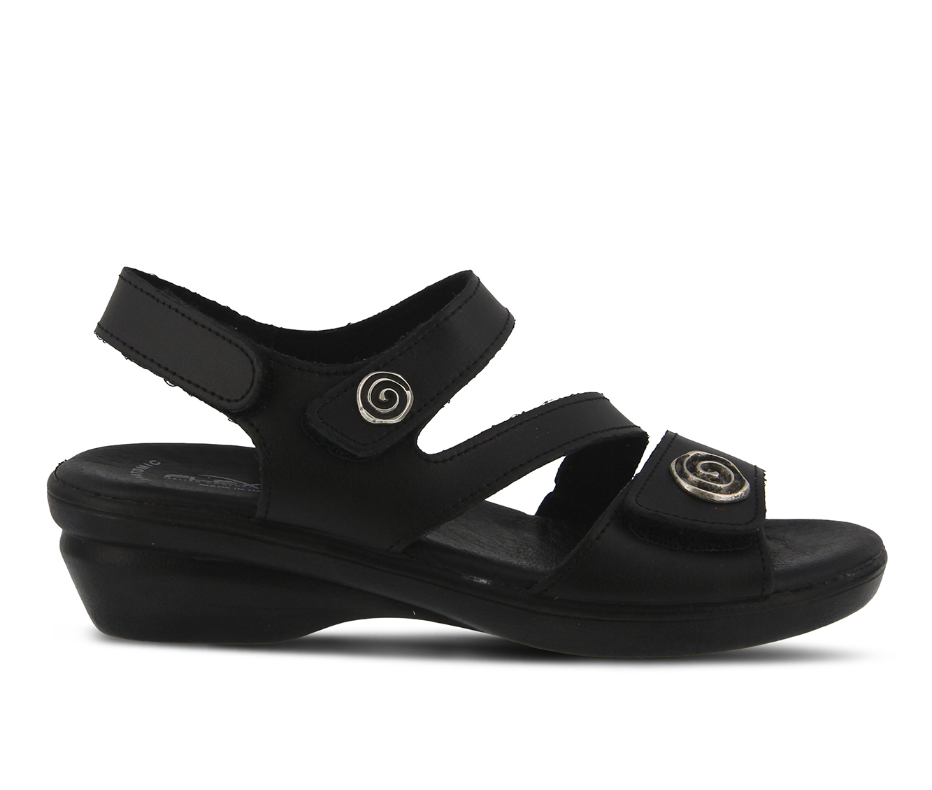 Flexus Safa Women's Sandal (Black Leather)