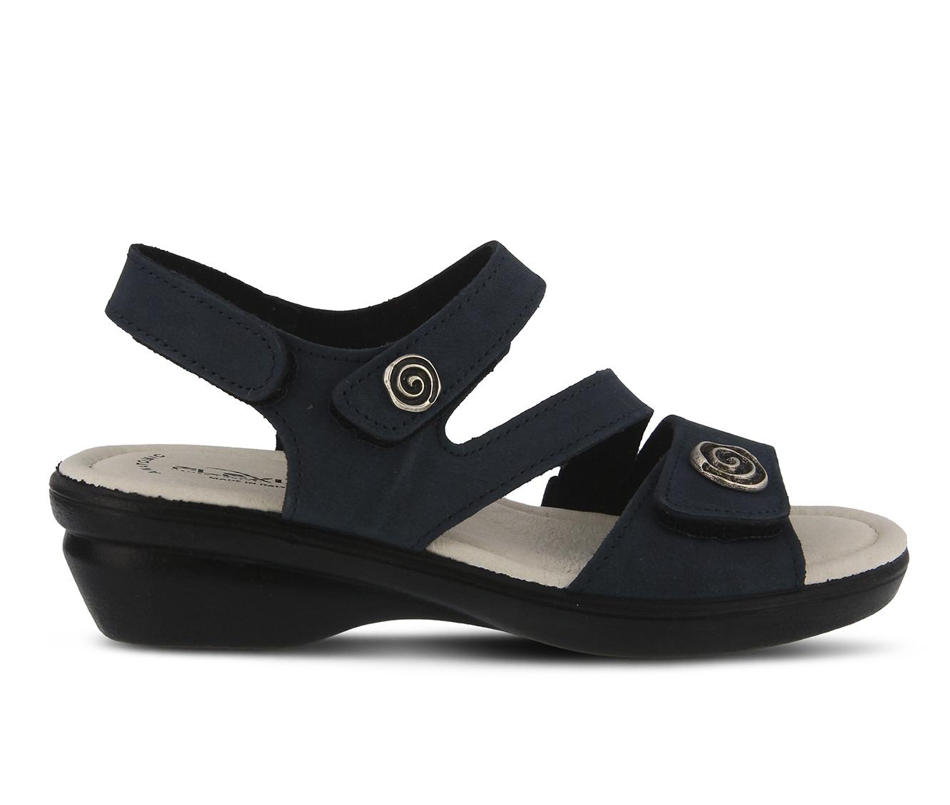 Flexus Safa Women's Sandal (Blue Leather)