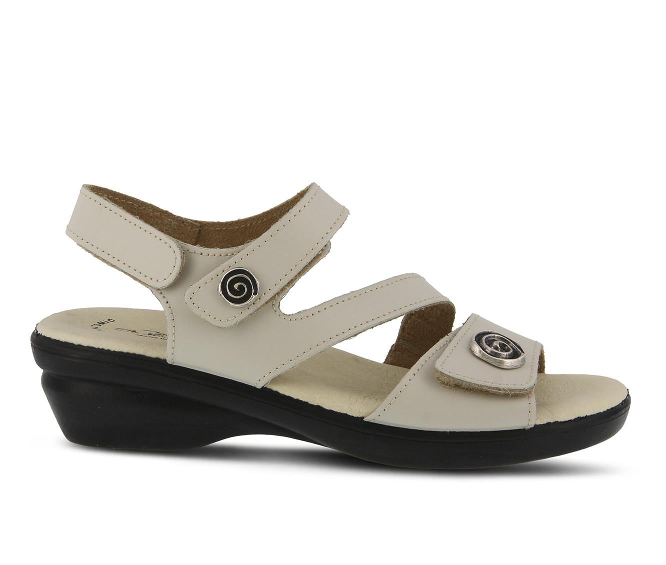 Flexus Safa Women's Sandal (White Leather)