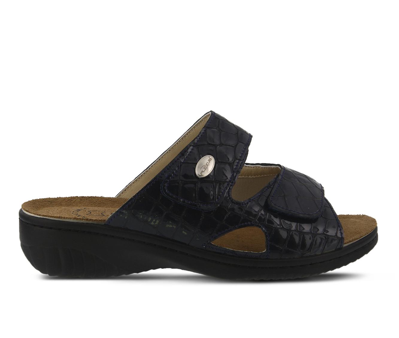Flexus Almeria Women's Sandal (Blue Leather)