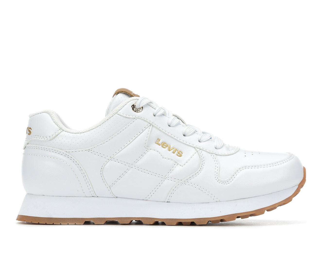 Levis Tessa Women's Shoe (White Faux Leather)