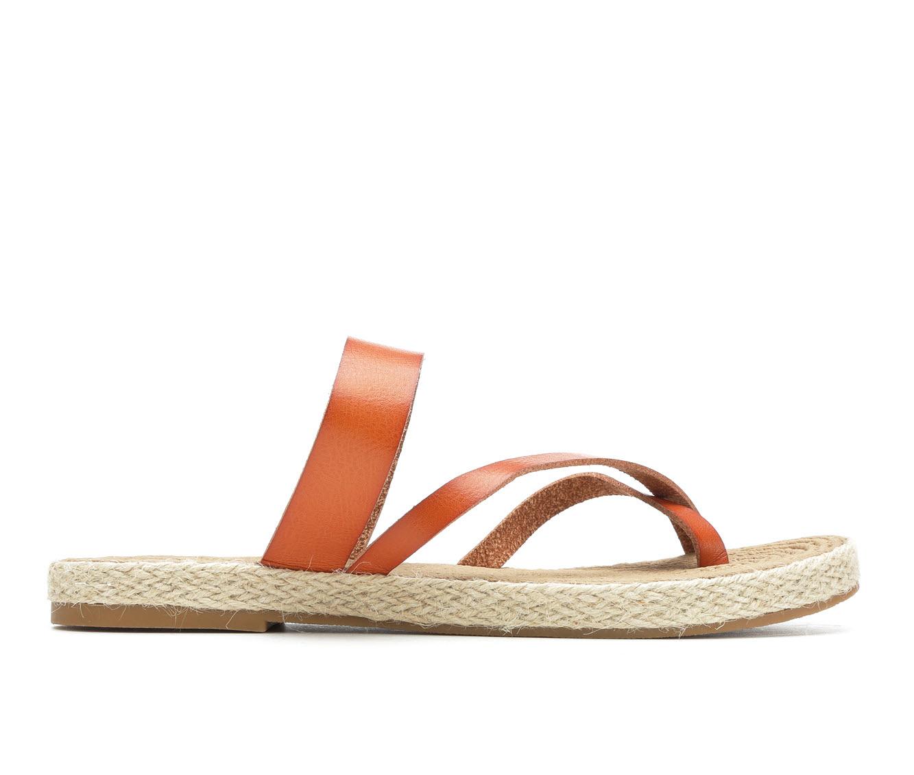 Soda October Women's Sandal (Beige Faux Leather)