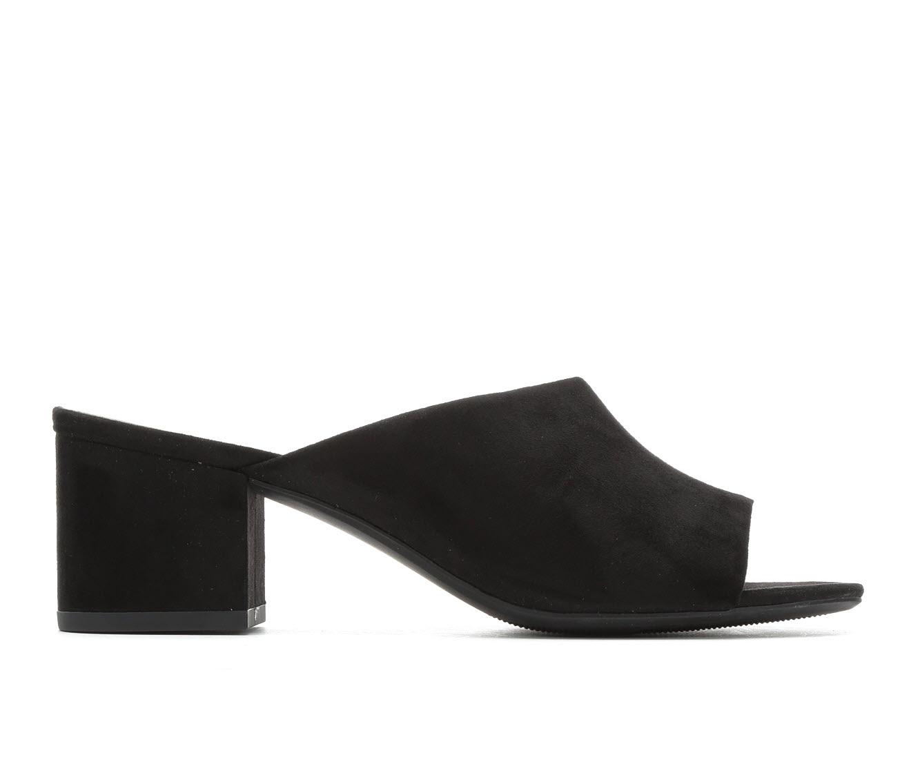 Anne Klein Sport Babs Women's Dress Shoe (Black Canvas)