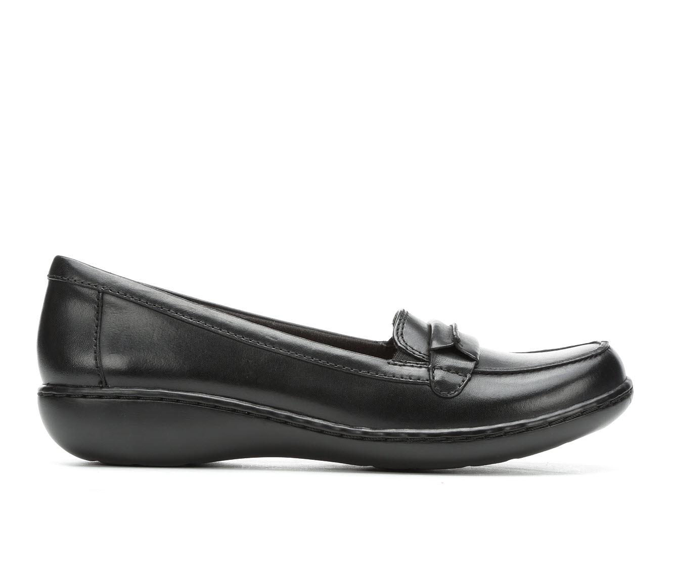 Clarks Ashland Lily Women's Shoe (Black Leather)