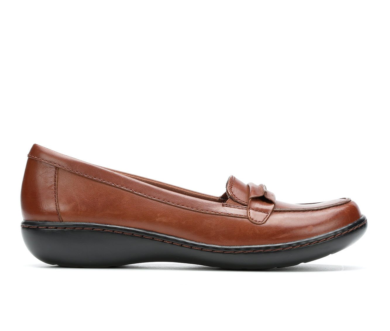 Clarks Ashland Lily Women's Shoe (Brown Leather)