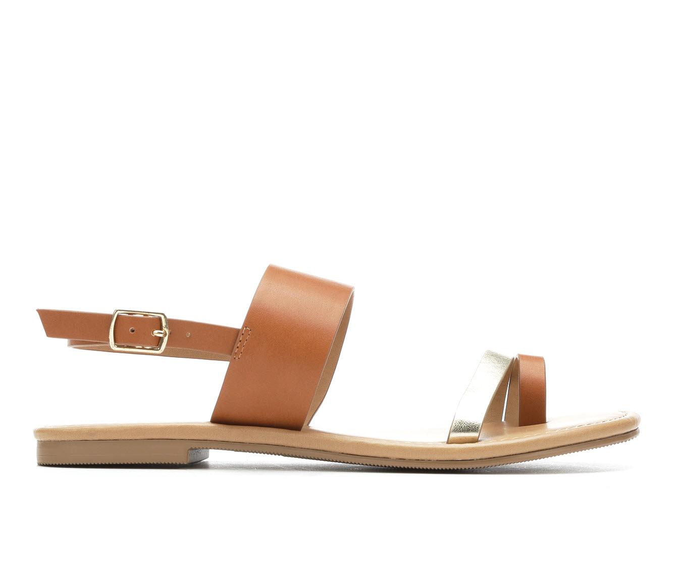 Unr8ed Bonita Women's Sandal (Gold Faux Leather)