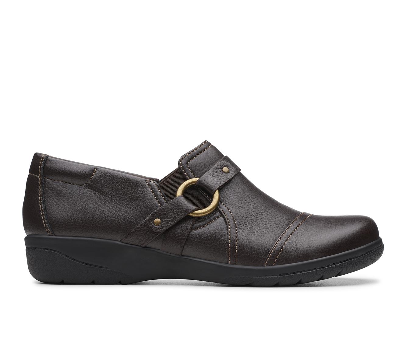 Clarks Cheyn Fame Women's Shoe (Brown Leather)