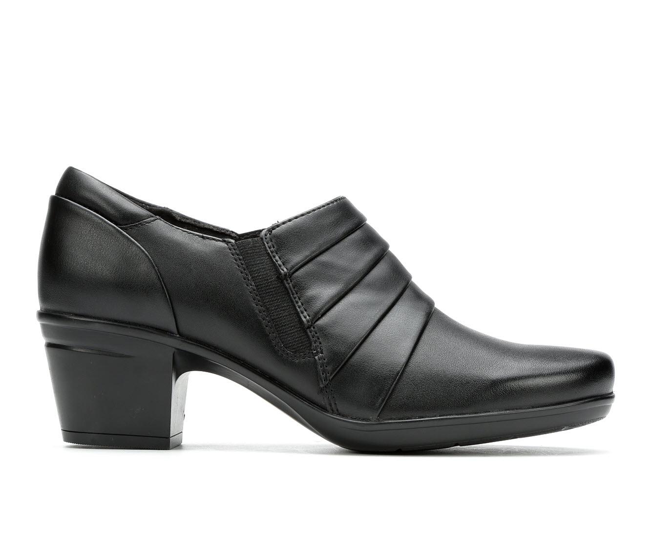 Clarks Emslie Guide Women's Shoe (Black Leather)