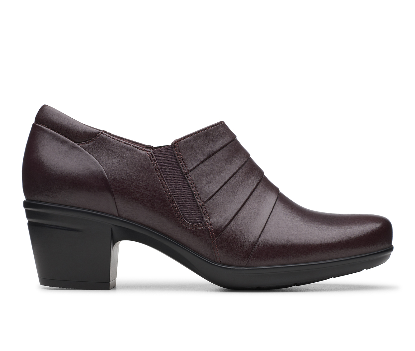 Clarks Emslie Guide Women's Shoe (Red Leather)