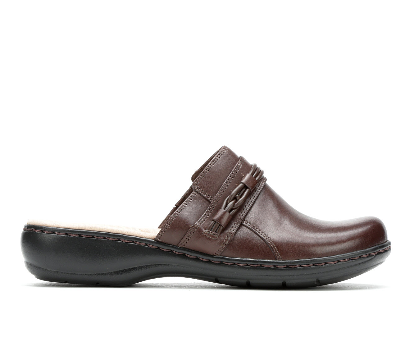 Clarks Leisa Clover Women's Shoe (Brown Leather)