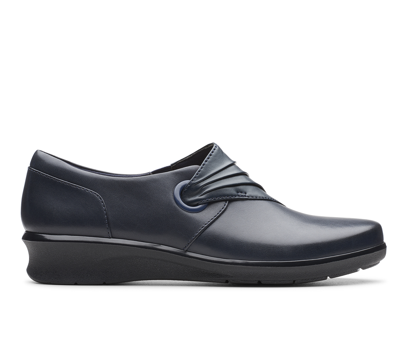 Clarks Hope Shine Women's Shoe (Blue Leather)