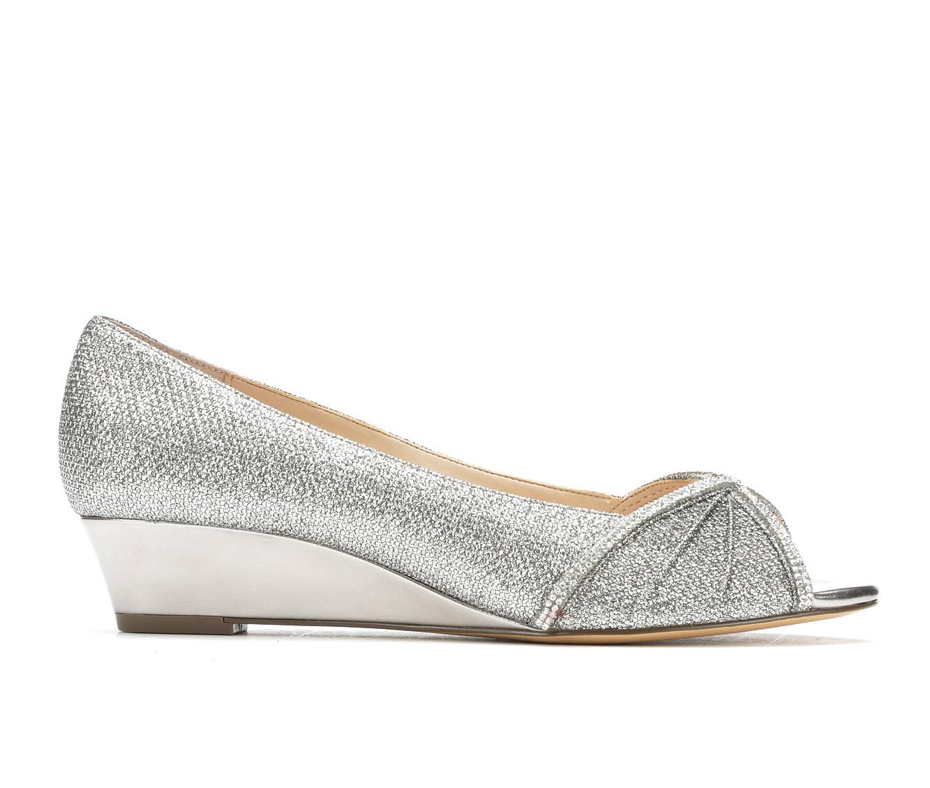 Touch Of Nina Romyne Women's Dress Shoe (Gray Canvas)