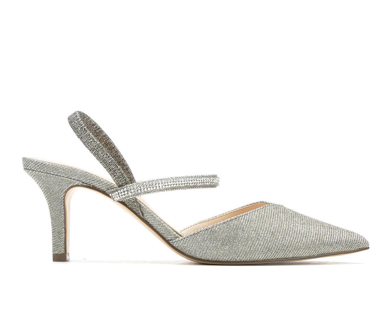 Touch Of Nina Berry Women's Dress Shoe (Gray Canvas)