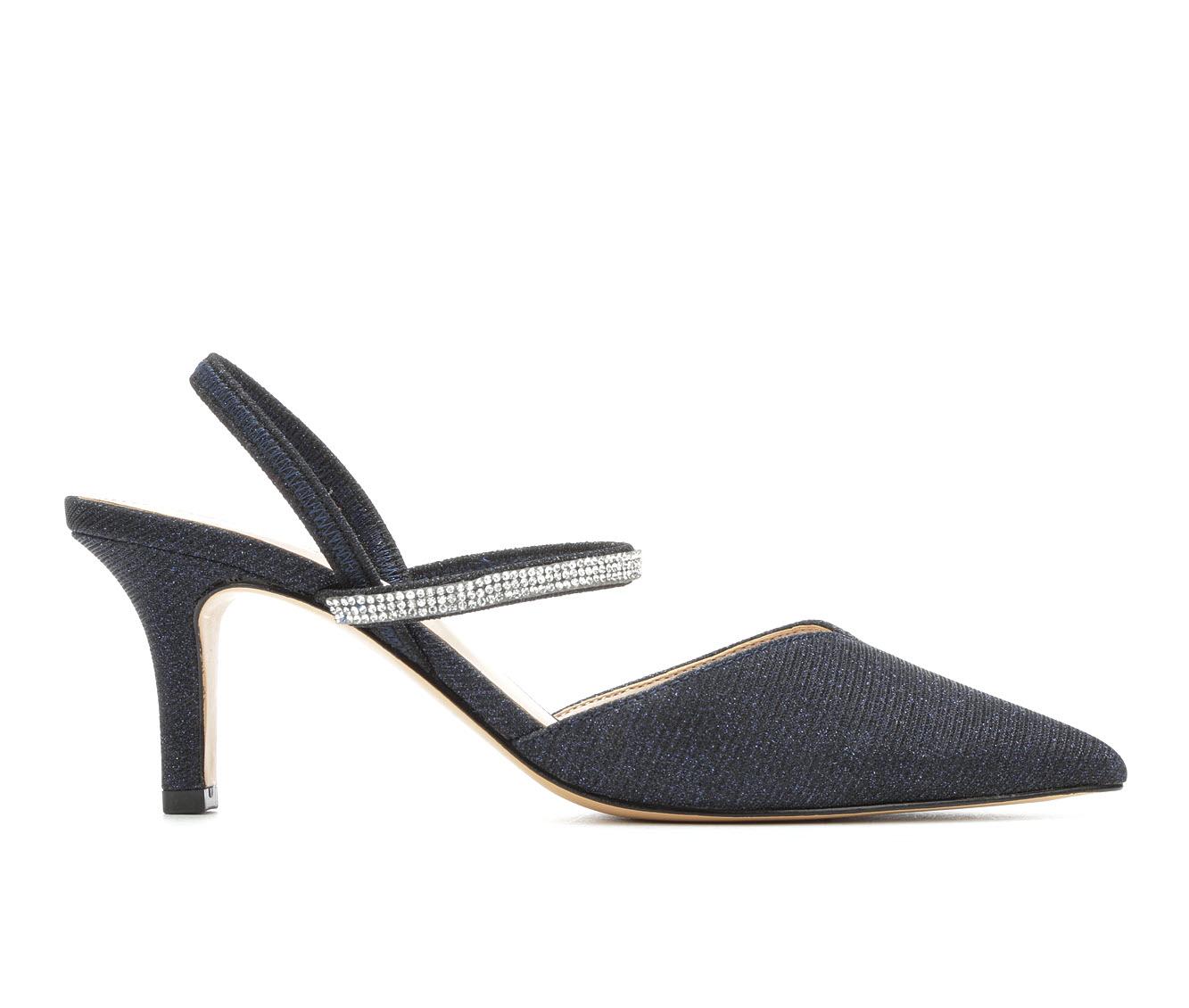 Touch Of Nina Berry Women's Dress Shoe (Blue Canvas)