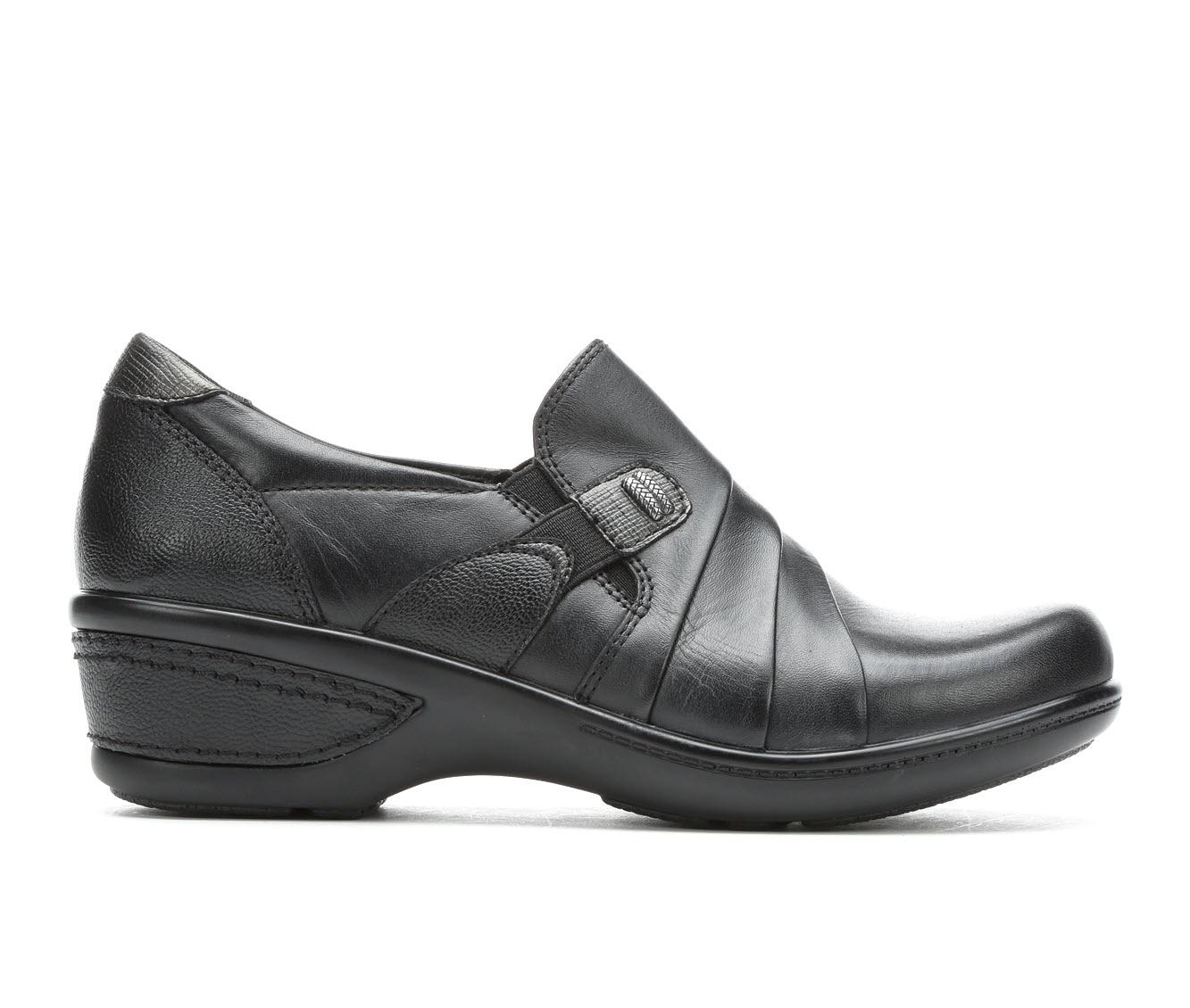 Earth Origins Fay Women's Shoe (Black Leather)