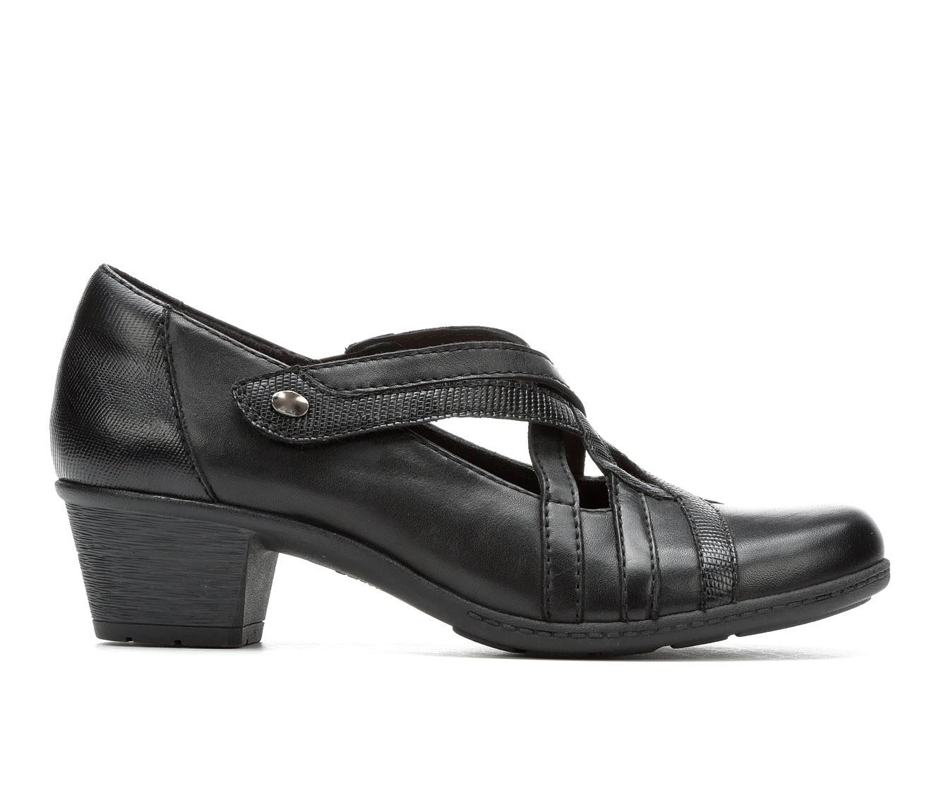 Earth Origins Macey Women's Shoe (Black Leather)