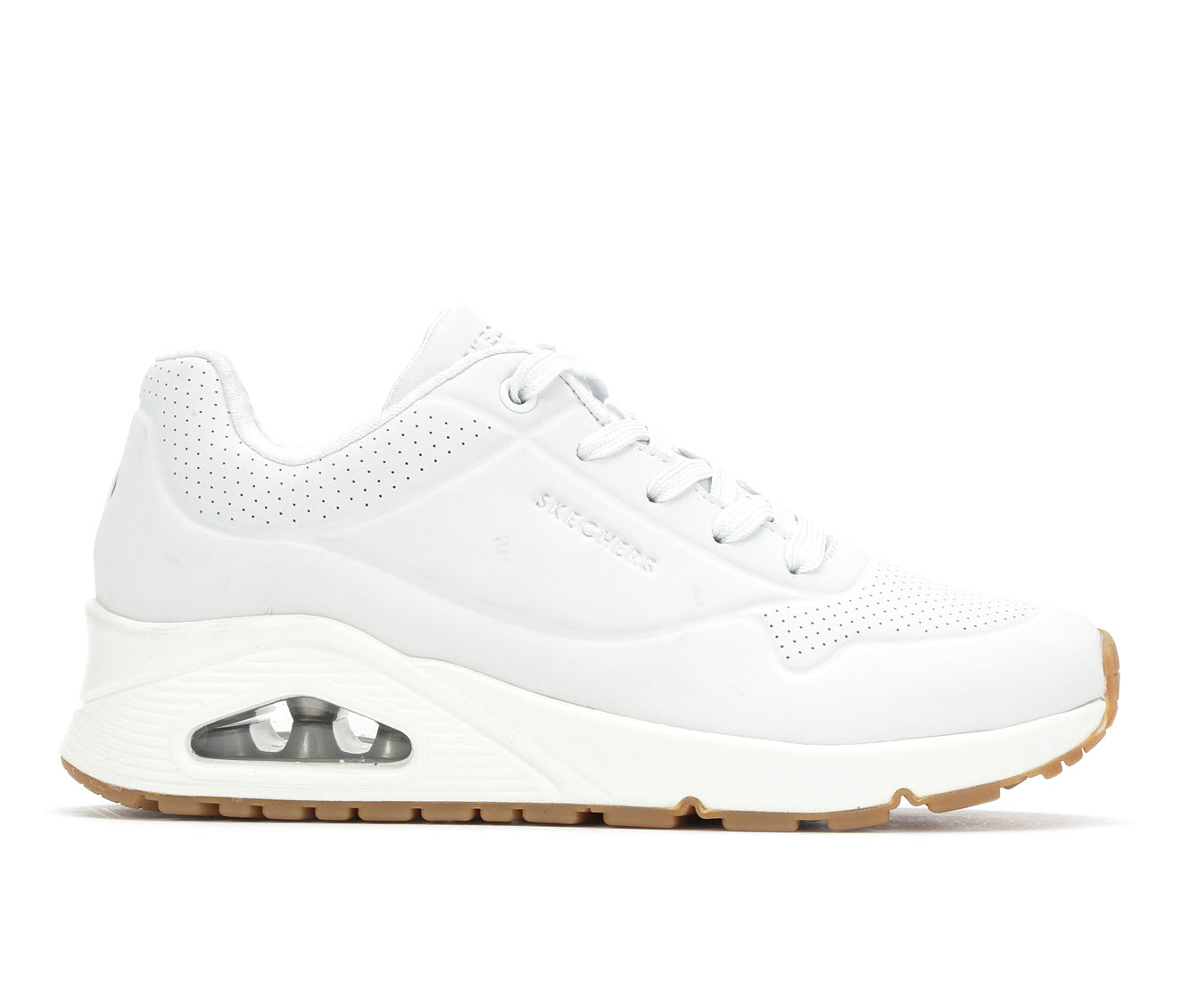 Skechers Street Stand On Air 73690 Women's Athletic Shoe (White)