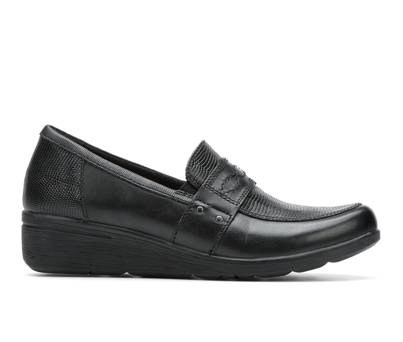 Earth Origins Zella Women's Shoe (Black Leather)