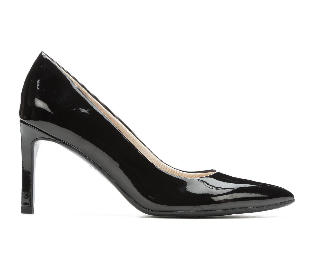 LifeStride Nadine Women's Dress Shoe (Black Faux Leather)