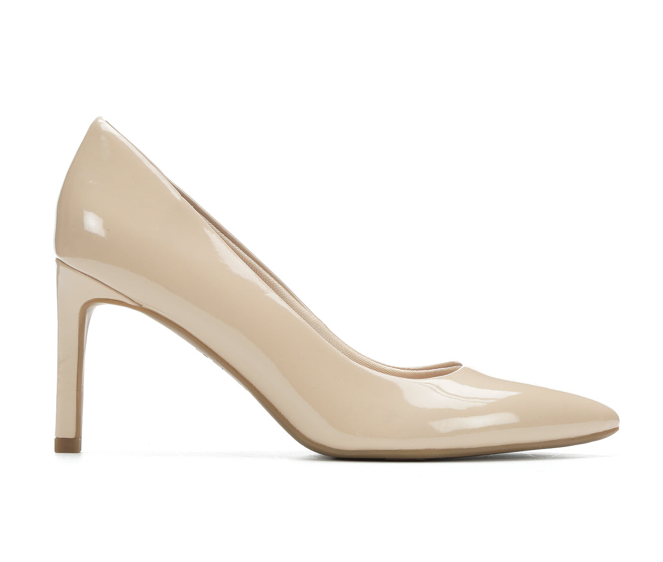 LifeStride Nadine Women's Dress Shoe (Beige Faux Leather)