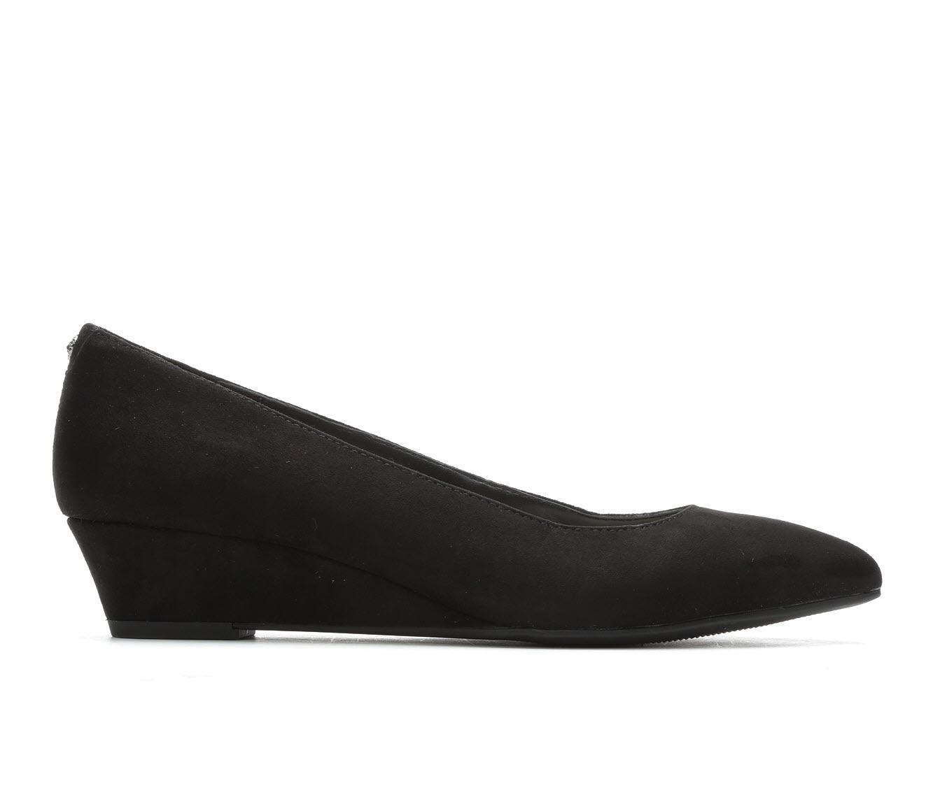 Anne Klein Sport Emera Women's Dress Shoe (Black Canvas)