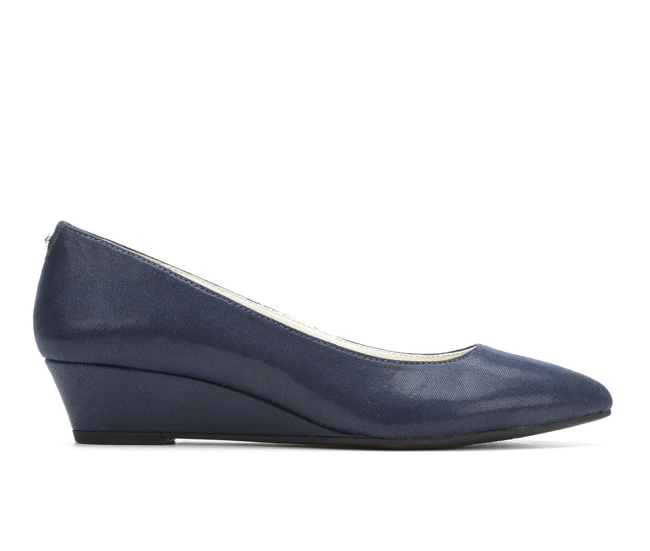 Anne Klein Sport Emera Women's Dress Shoe (Blue Canvas)