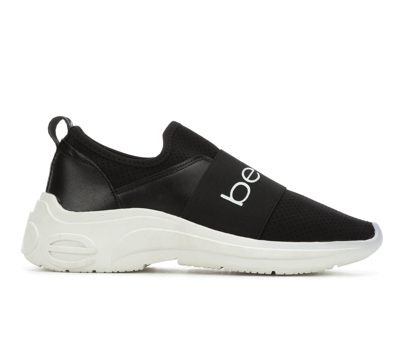 Bebe Sport Ladd Women's Shoe (Black Faux Leather)