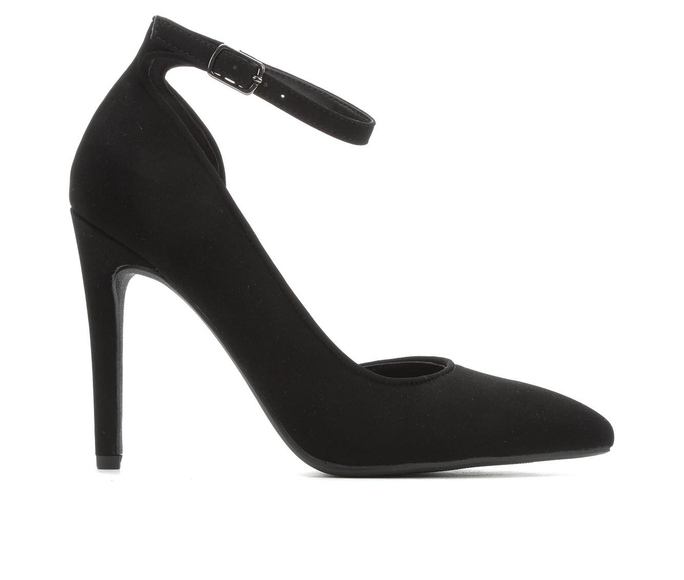 Delicious Skylee Women's Dress Shoe (Black Faux Leather)