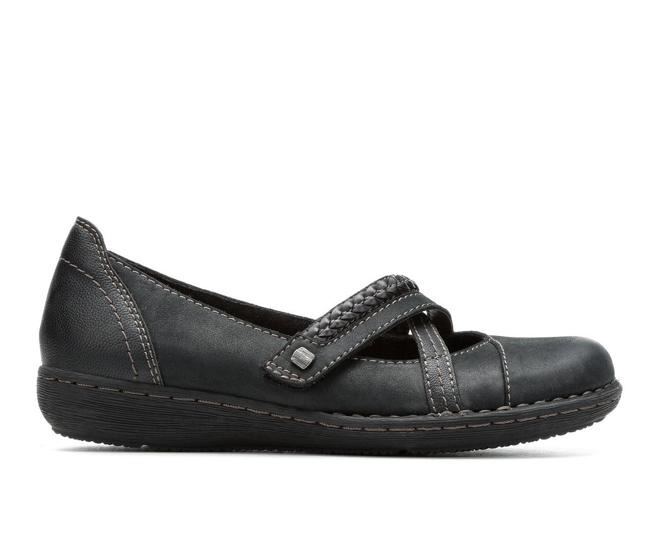 Earth Origins Toriana Women's Shoe (Black Leather)
