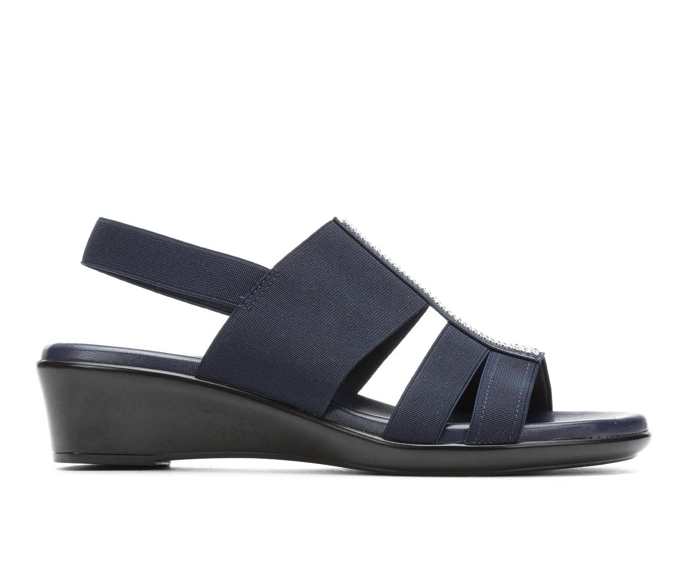 Italian Shoemakers Endure Women's Sandal (Blue Canvas)