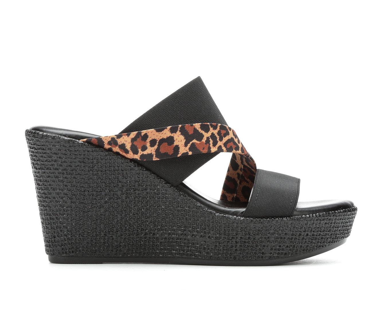 Italian Shoemakers Infiniti Women's Sandal (Black Canvas)