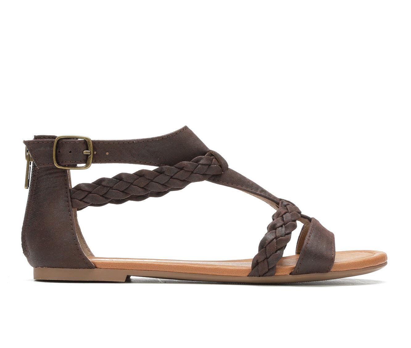 Unr8ed Scent Women's Sandal (Brown Faux Leather)