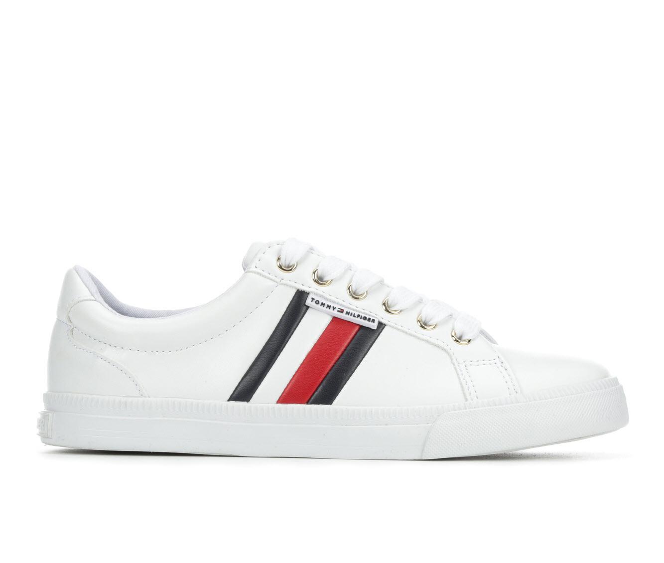 Tommy Hilfiger Lightz Women's Shoe (White Faux Leather)