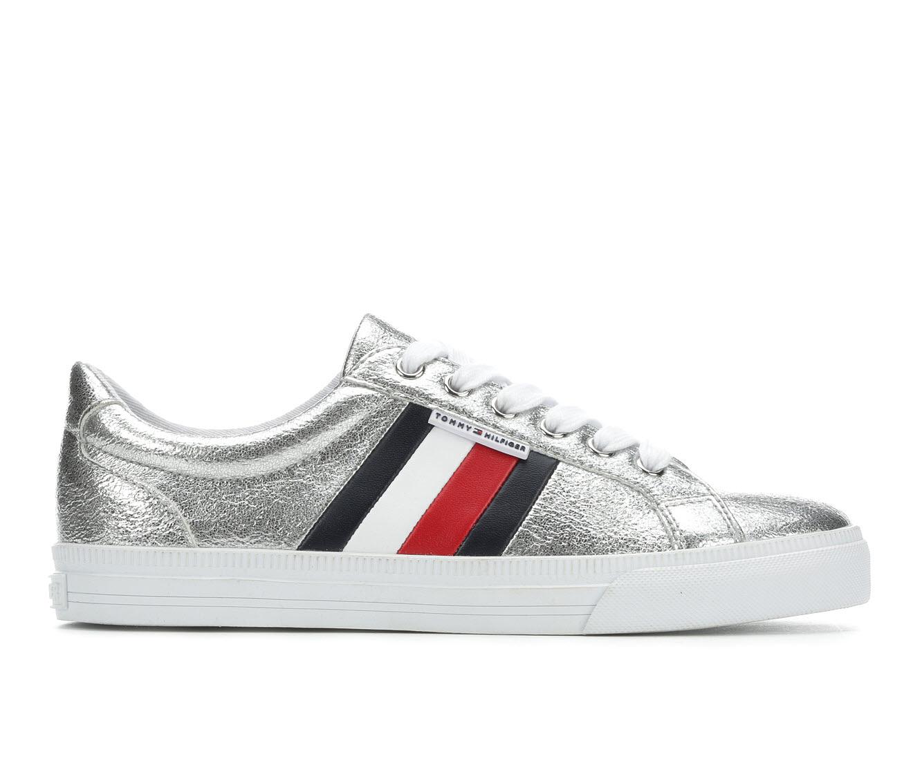 Tommy Hilfiger Lightz3 Women's Shoe (White Faux Leather)
