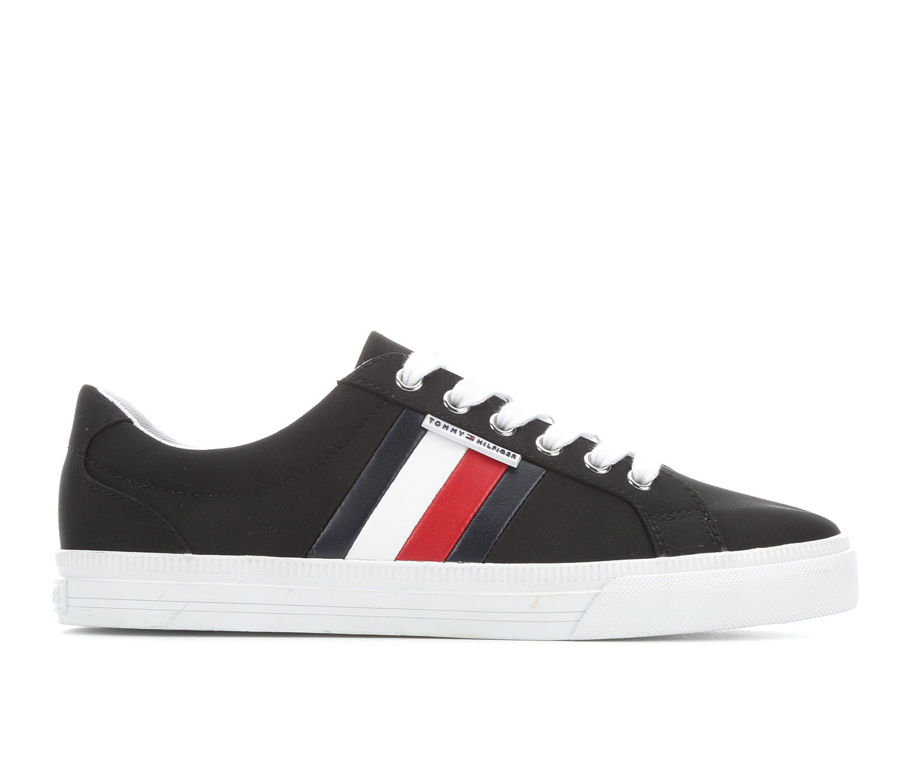 Tommy Hilfiger Lightz4 Women's Shoe (Black Faux Leather)
