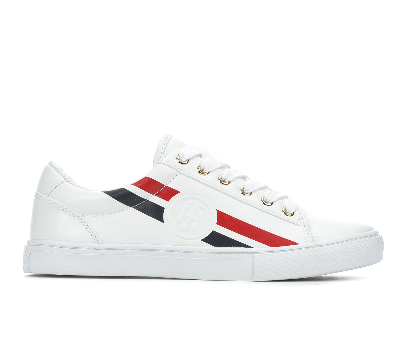 Tommy Hilfiger Lindee Women's Shoe (White Faux Leather)