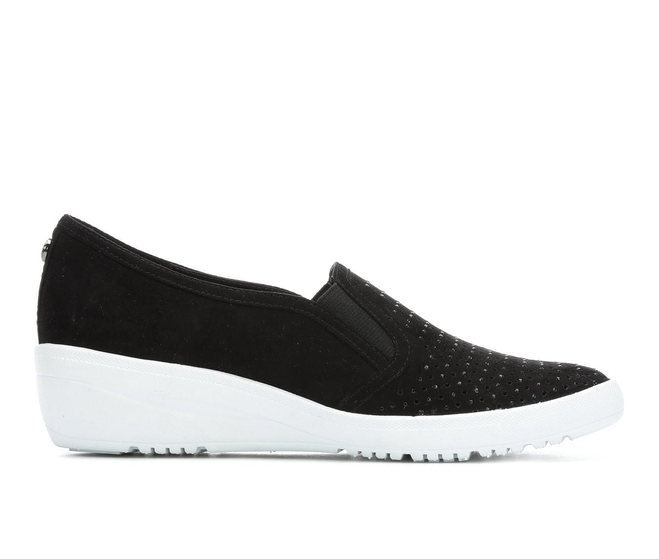 Anne Klein Sport York Women's Shoe (Black Canvas)