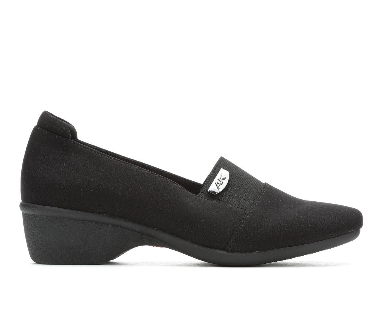 Anne Klein Sport Wallas Women's Shoe (Black Canvas)