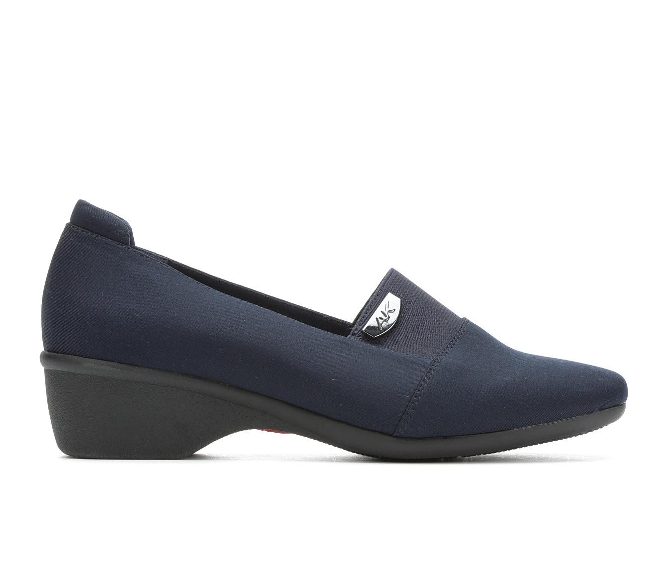 Anne Klein Sport Wallas Women's Shoe (Blue Canvas)